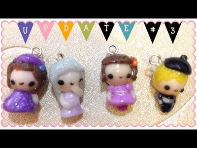 Polymer Clay & Resin Update #3 | The Chibi Continuity