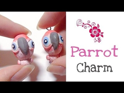 Polymer Clay Parrot Charm Tutorial