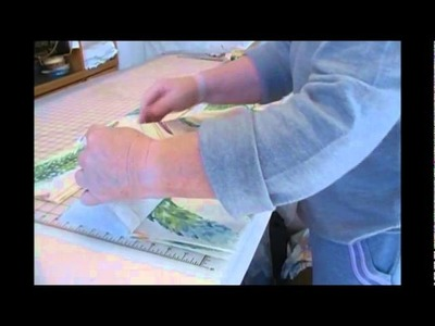 Quilt as You Go-Strip Quilting Tutorial