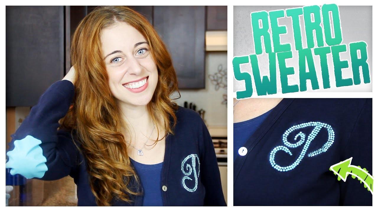 Retro Cardigan Sweater - Do It, Gurl