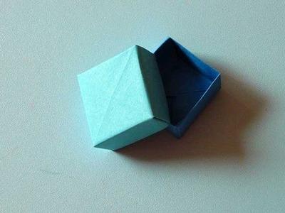 Ring Box Origami