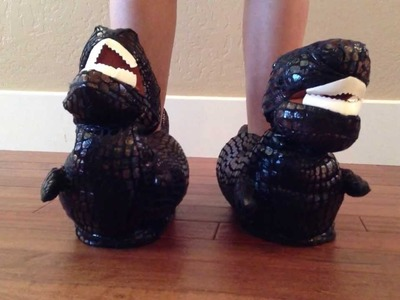 T-Rex Dinosaur Animal Slippers