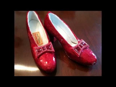 The Wizard of Oz 75th Anniversary Ruby Slippers