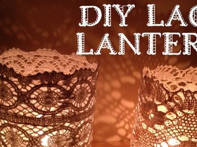 Tutorial: DIY lace lantern, doily lantern
