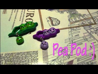 Tutorial : Polymer Clay Pea Pod