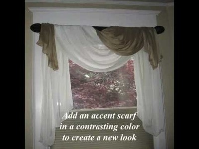 Window Scarf Options