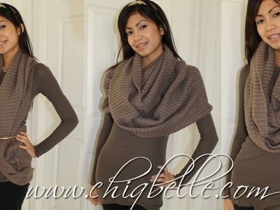 Winter Fashion: 3 Different Ways to Wear Your Infinity Scarf
