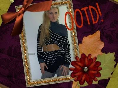 Winter Style OOTD: Oversized Sweater, Turtleneck, Jeggings & Fur Boots!