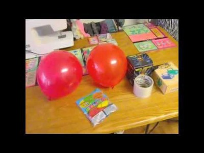 3 EASY STEPS DIY Table Top Balloon Decoration.