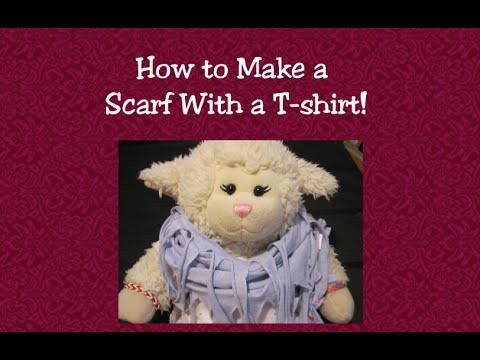 #350: How to Make a Scarf With a T-shirt - LambCam