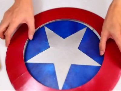 #43: Captain America's Shield DIY 1.2 - Print & Cut 'Cardboard' (PDF template)