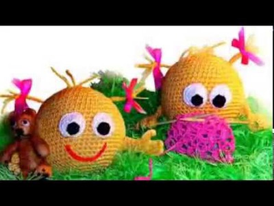 Amigurumi crochet and knitting toys