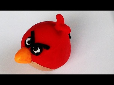 Angry Birds Polymer Clay Tutorial (DIY. How To Make. Tutorial)