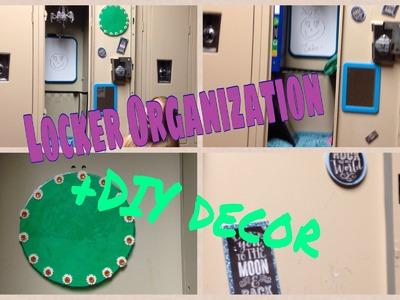 Back To School | Locker Organization + DIY Decorations