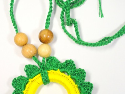 Crochet a Nursing Necklace for Baby - DIY Style - Guidecentral
