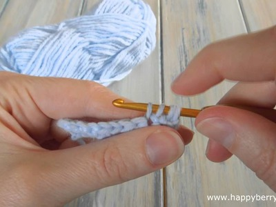 (crochet) How To - Double Crochet 2 Together (dc2tog) - Absolute Beginners