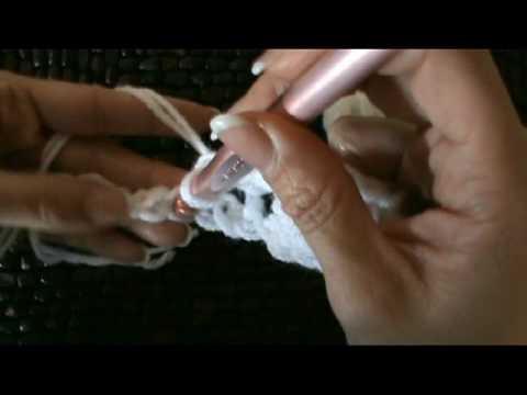 Crochet Yummy Cream Puff Baby Afghan Blanket