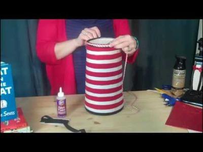 DIY: Cat in the Hat Lamp