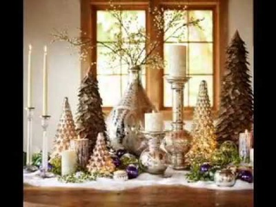 DIY Christmas centerpieces ideas