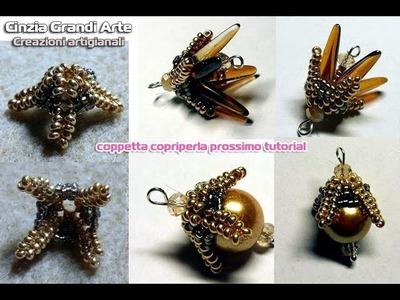 DIY - Coppetta copriperla - Beads Cup