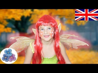 DIY Fairy Halloween Face Paint *Fairy Face Painting Ideas* Fancy Dress Costumes Mathie