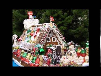 DIY Gingerbread house decorating ideas