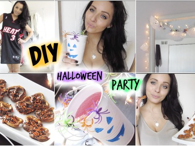 DIY Halloween Treats, Decor & Last Minute Costume Idea - Cheap & Easy Pinterest & Tumblr Inspired