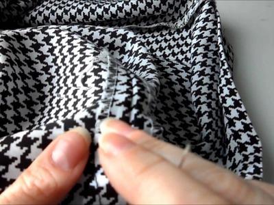 DIY How to Hem a Skirt