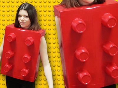 DIY LEGO COSTUME - LAST MINUTE