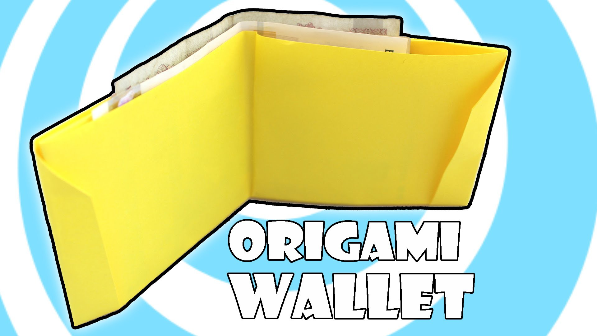 DIY: Printing Paper Origami Wallet Instructions (Laura Kruskal)