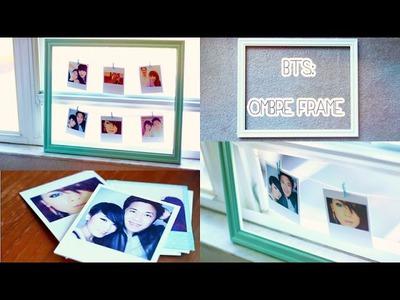 DIY Room Decor Polaroid Frame