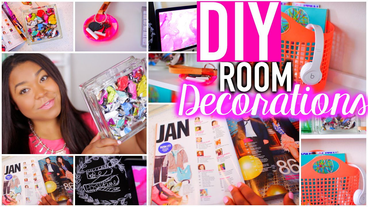 DIY Room Decorations +Desk Organization Tips for the New Year!