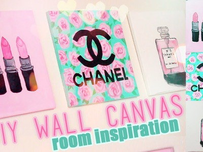 DIY Room inspiration Decor | Chanel, MAC, Designer Paintings | Juicydaily 2014
