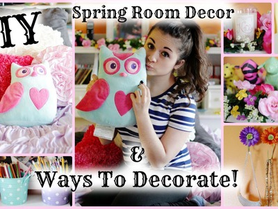 DIY Spring Room Decorations & Ways to Decorate! | March Marvel Day 5