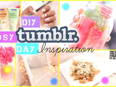 DIY Tumblr Cozy Day Ideas | Infused Water, Food & More