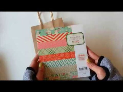 Easy DIY Christmas Gift Wrapping Idea: Paper Bag