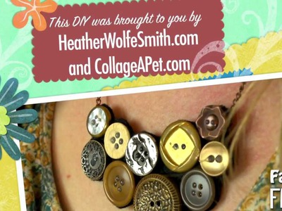 Fashion Frenzy - Episode 2: Button Necklace DIY