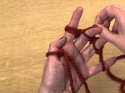 Finger Knitting - HI-DEF