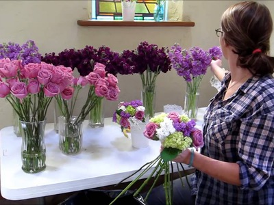 Flower Moxie Tutorial: DIY Bridesmaid Bouquet