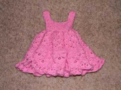 Free Baby Girl Crochet Dress