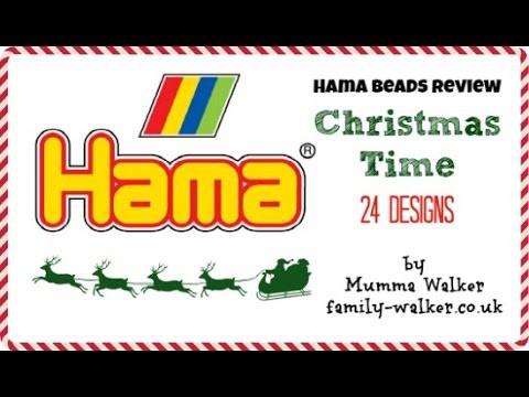 Hama Beads - Christmas Set - Unboxing