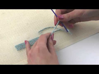 How to Close a Work of Petit Point | We Are Knitters