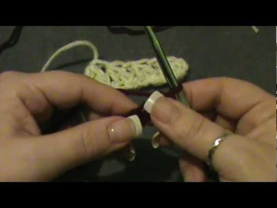 "How to Crochet a ""Double Crochet Cluster"" Stitch"