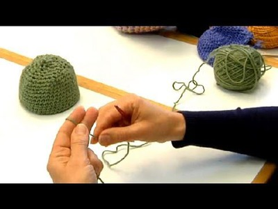 How to Crochet a Toddler's Hat in Single Stitch : Crocheting Clothes for Kids