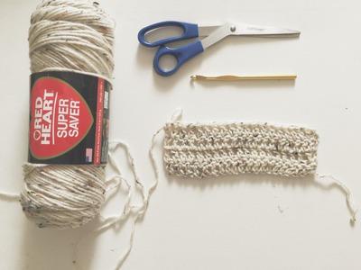How To Crochet : Double Crochet (DC) Pattern