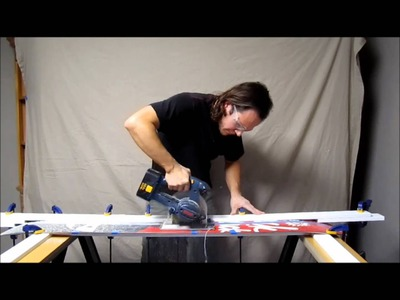 How to make a splitboard with the Voile DIY Split Kit - Part 1