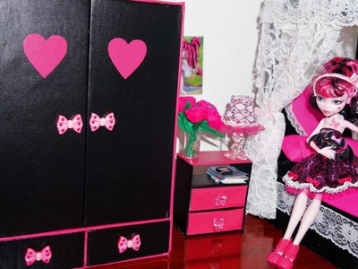 How to make a wardrobe for dolls Monster High, Barbie, etc