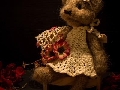 How to make crochet teddy bear - 2.part