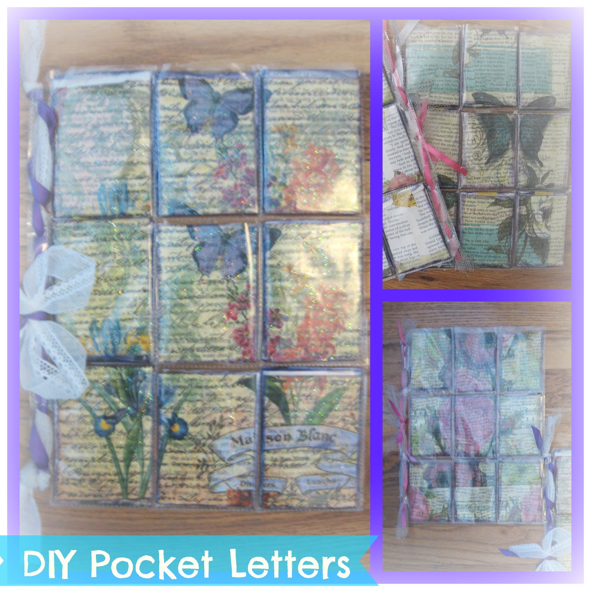How to make pocket letters. Easy Tutorial