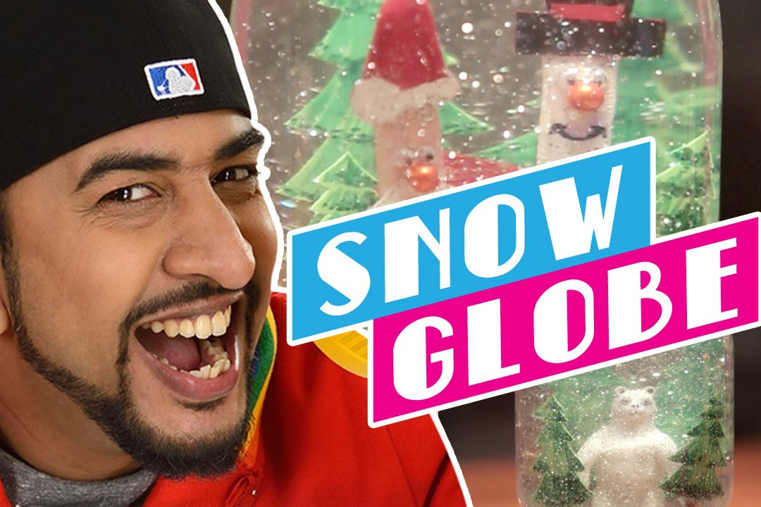 Mad Stuff With Rob - MSWR Shorts | How to Make a Snow Globe | DIY Craft for Children
